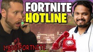 Calling the Fortnite Hotline