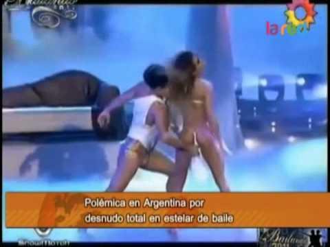 Polémica en Argentina por desnudo total en estelar de Tinelli