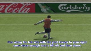 Rabona Skill Tutorial on Pes 2009/ 2010 for PSP, Xbox, PS3,PC, PS2 [HD/Widescreen]