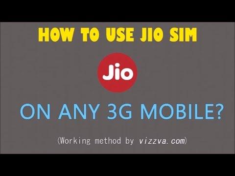 JIO Bumper Offer : Now Jio Sim Card in 2G & 3G Phone?