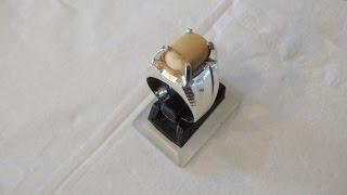 Handmade Silver Ring Using Manual Tools (cincin perak buatan tangan)