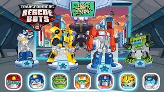 Transformers Rescue Bots: Disaster Dash Hero Run   Become a giant DinoBot! By Budge