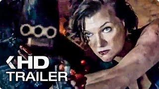 RESIDENT EVIL 6: The Final Chapter Trailer (2017)