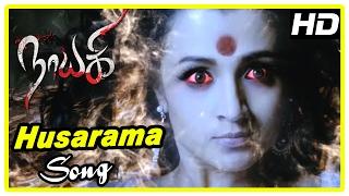 Nayaki Tamil Movie Scenes | Husarama song | Trisha And Ganesh | Satyam Rajesh realise his mistake