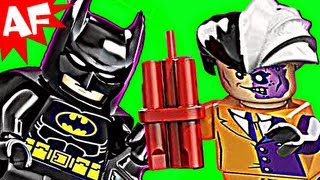 Batman BATMOBILE & TWO FACE 6864 Lego DC Comics Super Heroes Stop Motion Review