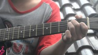How to Toturial Guitar cover, My Love (Westlife)