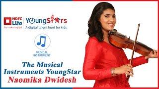 HDFC Life YoungStars   Musical Instruments Winner Naomika Dwidesh performs with Mentor Raghav Sachar
