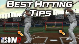 Best Hitting Tips MLB The Show 17 [Home Run Tips] [Reticle or Wedge?] [Strikezone Tips] [Tutorial]