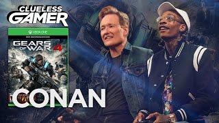 """Clueless Gamer: """"Gears Of War 4"""" With Wiz Khalifa  - CONAN on TBS"""