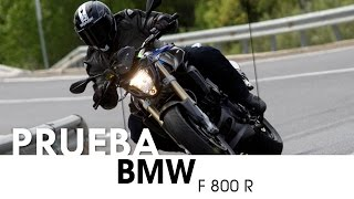 BMW F 800 R - videoprueba - castellano - 2016