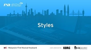 Launch Event for Malaysia's FIRST Musical Keyboard, KORG PA600MY (Styles)