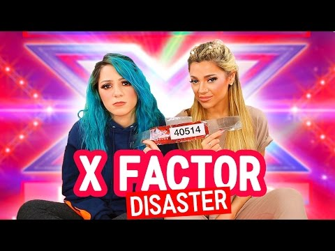 We Auditioned for X Factor story time LIVE FOOTAGE Niki and Gabi