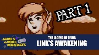 Zelda: Links Awakening (Game Boy) Part 1 - James & Mike