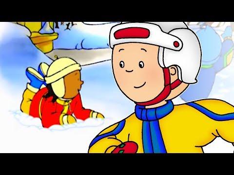 Cartoon Caillou English Full Episodes Caillou s Holiday 🎄 NEW