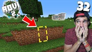 ¡ ENTRADA SECRETA A LA MANSIÓN ! | Rovi Survival Minecraft 2 | Episodio 32