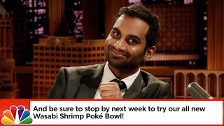 Aziz Ansari and Jimmy Dramatically Read Bad Yelp Reviews