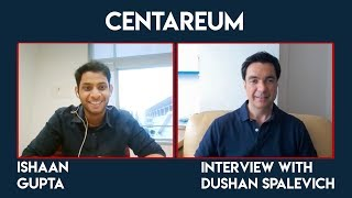 Centareum - CTO Ishaan Gupta Interview With Dushan Spalevich for ICO TV VIDEO review