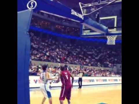 Japeth Aguilar's Final Dunk - FIBA Asia 2013: Gilas Pilipinas vs. Qatar