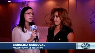Entrevista a Carolina Sandoval - Alo Buenas Noches 12-07-2017 Seg. 04