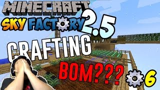 Crafting Bom! ~ Minecraft Sky Factory 2,5 Indonesia ep.6