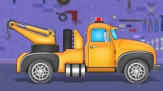 Tow Truck |  Formation And Uses | Kids Educational Video