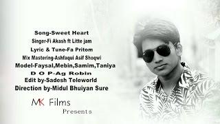 Bangla New Song 2016 Full HD--  Song- Sweet Heart -- Singer  Fi Akash--  Azad 24 Tv