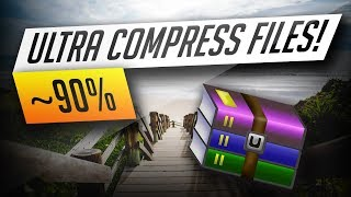 How To Compress Files Massively! [4GB TO 1MB]