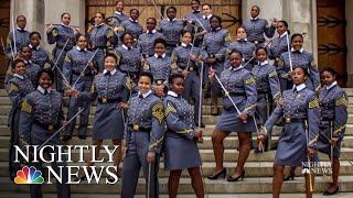 Black Female Cadets Make History At West Point | NBC Nightly News