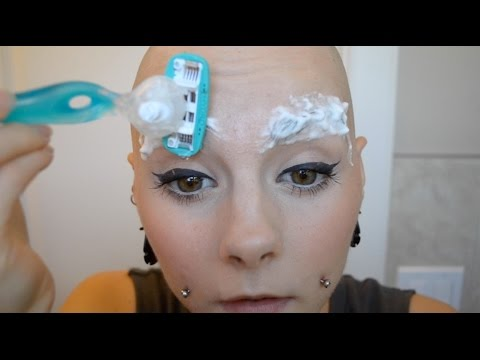 Xxx Mp4 Shaving My Eyebrows And Drawing Them On 3gp Sex