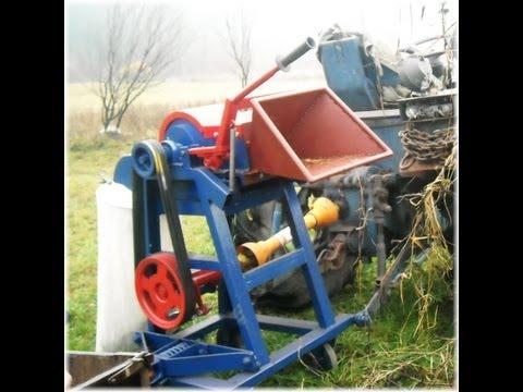 Rozdrabniacz Rębak do drewna gałęzi Wood Chipper 2012 własnej produkcji samoróbka