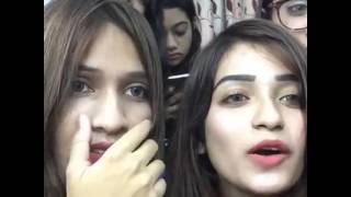 Tanzim Mehjabin Khan Sneha LIVE Masti