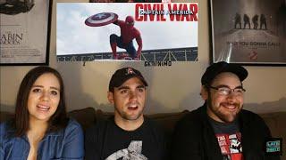 Captain America CIVIL WAR - 2nd Trailer Reaction
