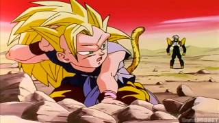 DBGT SSJ3 Goku vs Super Baby Vegeta [1080p Full HD]