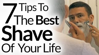 7 Steps To Best Shave of Your Life   Barbershop Quality Shave At Home   Shaving Tutorial OneBlade