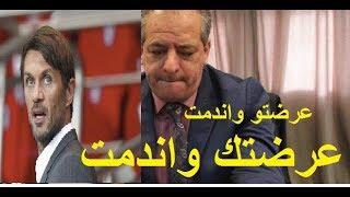 عيطو لوزير الرياضة باش يسلم الكرة الذهبية لفوزي غلام -بصح مسكين مافهم والو خلاوه واقف