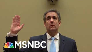 Watch Michael Cohen Excoriate Trump Alleging Crimes In Office   The Beat With Ari Melber   MSNBC