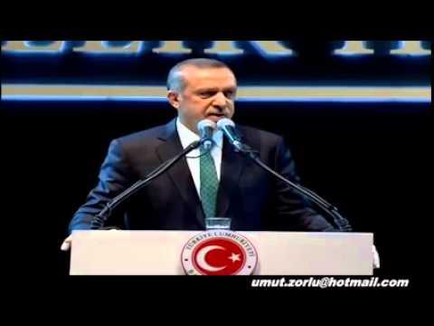 Tayyip Erdoğan vaaz gibi konuşması