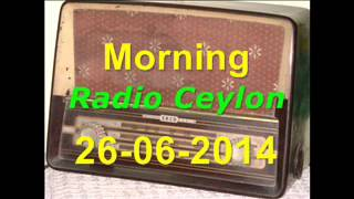 Radio Ceylon 26-06-2014~Thursday Morning~02 Ek Hi Film Se - Akashpari-1958 (Lachak-1951)