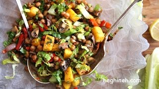 Roasted Pumpkin Salad Recipe - Perfect Salad Ideas - Heghineh Cooking Show