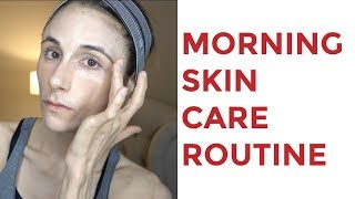 DRUGSTORE MORNING SKIN CARE ROUTINE| DR DRAY