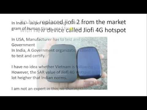 Jio has replaced Jiofi 2 with Jiofi 4G hotspot. Is SAR value an issue in new device???