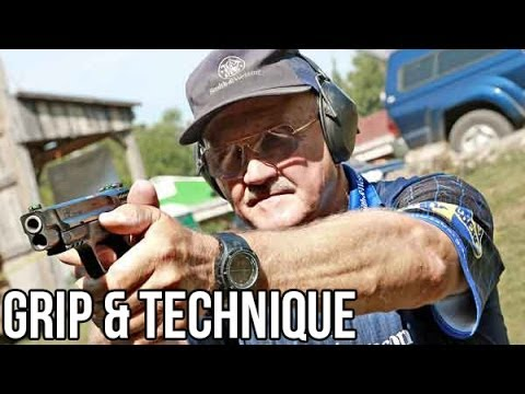 How to shoot a Pistol with world champion shooter Jerry Miculek