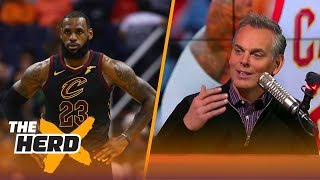 Colin Cowherd and Nick Wright react to LeBron