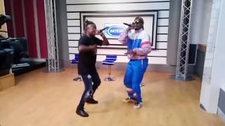 Glass Gamboa feat Nikotina KF - Vai me dar(EP RICO) programa BATIDAS tv Sucesso