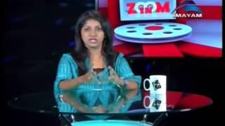 imayam  tv zoom in theresha illana nayandhara film   talk 18 09 2015