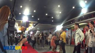 Behind The Scene BTS Just The Way You Are Grand Premiere Night with Liza Soberano and Enrique Gil