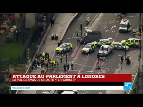 Attaque au Parlement à Londres : le point sur la situation à 16H40