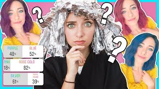 Instagram Followers Picked Bailey's HAIR COLOR! *she had NO idea*