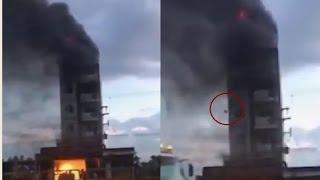Bình Thuận: Khách sạn cao tầng cháy 9 du khách nhảy từ lầu cao