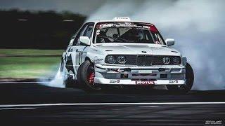 Drift BMW E30 BATMAN drifting